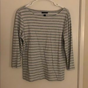 J. Crew 3/4 Sleeve Top